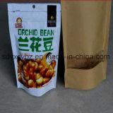 Größe kundenspezifischer Fastfood- Beutel mit Reißverschluss für Imbiss-Nahrung