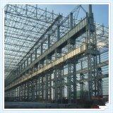 Edificio prefabricado ligero de la estructura de acero para el taller o el almacén