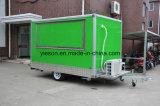 Mobile Food Van Trailer su ordinazione per lo standard americano