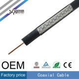 Câble coaxial de liaison de PVC Rg59 de prix usine de Sipu pour la télévision en circuit fermé de TV
