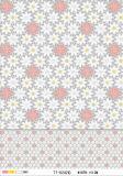 LFGB alta calidad de PVC transparente patrones impresos Mantel (TJ 0068)