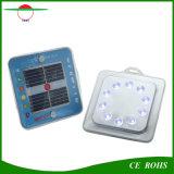 Lanterna solare portatile chiara di campeggio chiara solare della lampada di soccorso dell'archivio del sacchetto del magnete esterno solare dell'indicatore luminoso 10LED