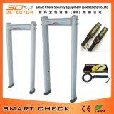 De Gang van de kolom door de Detector van het Metaal van het Type van Poort van de Detector van het Metaal