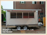 판매를 위한 Ys-Fb390f 커피 트레일러 음식 손수레 트레일러 음식 트럭