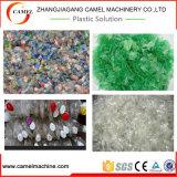 Botella/escamas plásticas del animal doméstico que se lavan reciclando la línea/la máquina