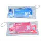 Zahnmedizinische orale Sorgfalt-orthodontische Gleichheit-Zahnbürste-Interdental Pinsel-Glasschlacke-Installationssatz