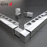 Ángulo de recorte de aluminio Accesorios de pisos autoadhesivos Borde de laminado