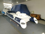 Stof van pvc van de Boot van de Leiding van Liya 14FT de Stijve Hydraulische voor Opblaasbare Boot (LY430)