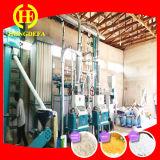 Todo o conjunto de equipamentos de moagem de farinha de milho para fazer Ugali