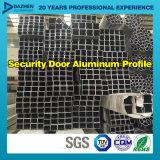 Profil en aluminium en aluminium de série Theftproof de rambarde