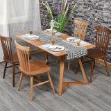 의자 (C720-1)를 식사하는 식당 가구 재 단단한 나무 Windsor