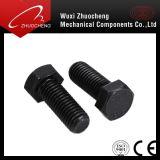 도매가 육각형 헤드 탄소 강철 검정 표면 M3-M39 DIN931/DIN933 놀이쇠