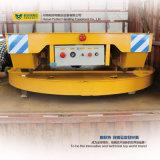 Plaques tournantes industrielles motorisées travaillant aux Cross-Rails