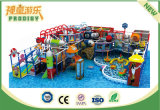 Спортивная площадка привлекательного и цветастого парка атракционов детей напольная для сбывания