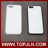 Le PC de sublimation avec l'aluminium personnalisent la caisse de téléphone pour l'iPhone 5c
