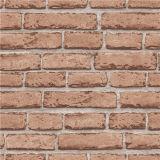 공장 제조 단순한 설계 PVC 비닐 벽돌 Stylewallpaper