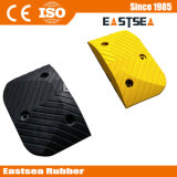 Goedkope Prijs Black & Yellow Rubber Road Safety Speed ​​Hump