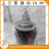 Type normal câble d'alimentation de l'UL 1072 2AWG 5kv 15kv d'Urd