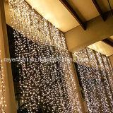 Im Freien wasserdichte Vorhang-Lichter des Dekoration-Zeichenkette-Licht-LED