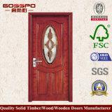 Europäische ausgeglichenes Glas-hölzerne Küche-Tür (GSP3-007)