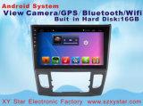 Lettore DVD Android dell'automobile di percorso del sistema GPS per lo schermo di capacità della Honda Crider 10.1inch con MP3/MP4/TV/WiFi/Bluetooth/USB
