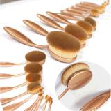 Cepillos cosméticos determinados del maquillaje del PCS del profesional 10 del cepillo de dientes