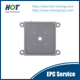 Plaque de filtre à membrane à haute pression et température imperméable à l'eau