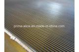 Matting de borracha com nervuras ondulado fino/largo da alta qualidade do assoalho em Rolls