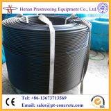 Cabo Prestressed de alta elasticidade 1860MPa de Unbonded da fábrica de China