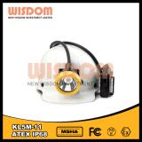 RoHS Rechargeble 폭발 방지 LED 광부 Headlamp를 가진을%s 가진 지혜 Kl5m-11