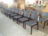 (SD-1001) Cadeira de madeira do restaurante de Upholstery da tela do frame do restaurante moderno do hotel