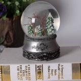Résine personnalisé Boule à neige avec de la musique pour Noël Deco