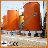 Preto de recuperação do óleo usado para regeneração do Óleo de Lubrificação da Unidade de óleo Base Amarela