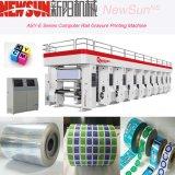 Machines d'impression automatisées par série de gravure de film plastique de longeron d'asy-e