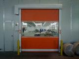 Дверь стальной рамки OEM высокоскоростная автоматическая промышленная для пакгауза