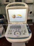 Máquina de ultra-som Doppler de cor portátil Veterinária / Vaca de gato de cachorro Usar Dispositivo de ultra-som de função Doppler