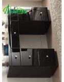 家具の黒いミラーセット