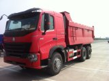 HOWO A7 6X4 Volvoのダンプボックスが付いている25トンの大型トラック