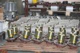 Grúa eléctrica del motor del alzamiento de cadena de 5 toneladas con la carretilla