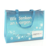 Qualitäts-mehrfachverwendbare Förderung lamellierte aufbereitete RPET Einkaufstasche