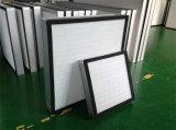 소형 주름을 잡은 0.3microns 섬유유리 HEPA 필터, 산업 공기 정화 장치 H13 H14