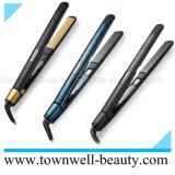 Stile ionico del raddrizzatore dei capelli dell'affissione a cristalli liquidi del ferro piano di ceramica professionale dei capelli