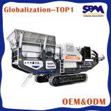 Móvil trituradora de cono, trituradora móvil para la venta