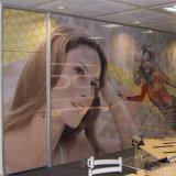 Película unidireccional de la ventana de la etiqueta engomada de la visión del estiramiento auto-adhesivo claro movible perforada