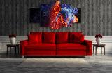 HDは炎図グループの絵画キャンバスの版画室の装飾プリントポスター映像のキャンバスMc025を印刷した