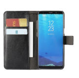 Caja del cuero del tirón del teléfono celular para Samsung