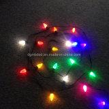 보충 0.5W E12 E17 딸기 LED 크리스마스 끈 C9 전구