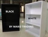 In condizioni ambientali 2-Shelf bianchi si dirigono lo scaffale per libri dell'acciaio di sicurezza