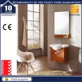 Governo fissato al muro di vanità della stanza da bagno del MDF della melammina con lo specchio