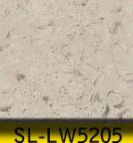 O mármore elegante veia a laje de quartzo, tipo artificial pedra de quartzo para a promoção